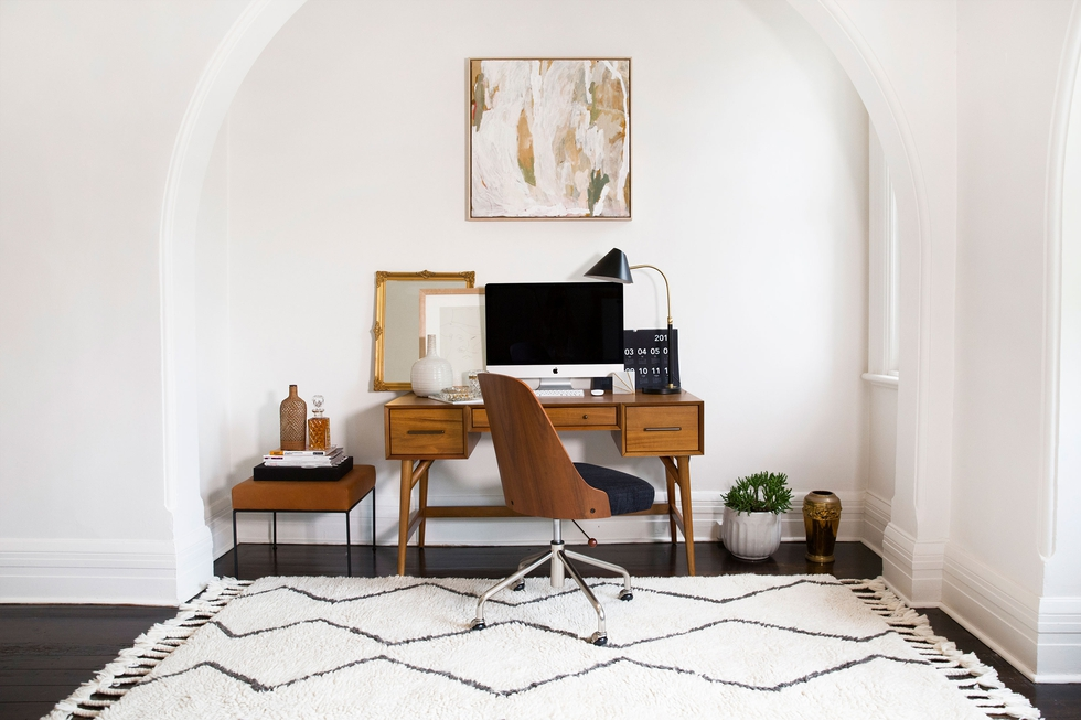Get Your Home Office Organized For Back To School | Decorist