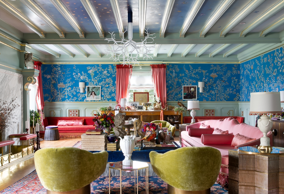 Peek Inside A Fabulous Maximalist Living Room Design