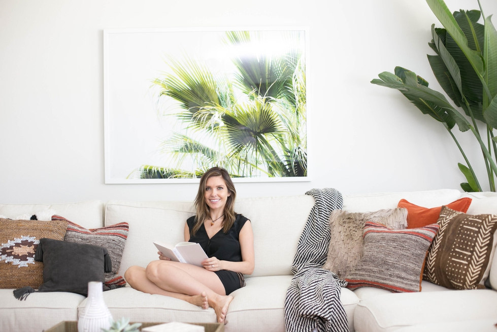 Audrina Patridge Living Room Makeover