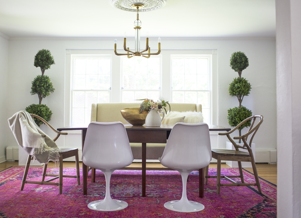 Online Interior Design Dining Room Makeover