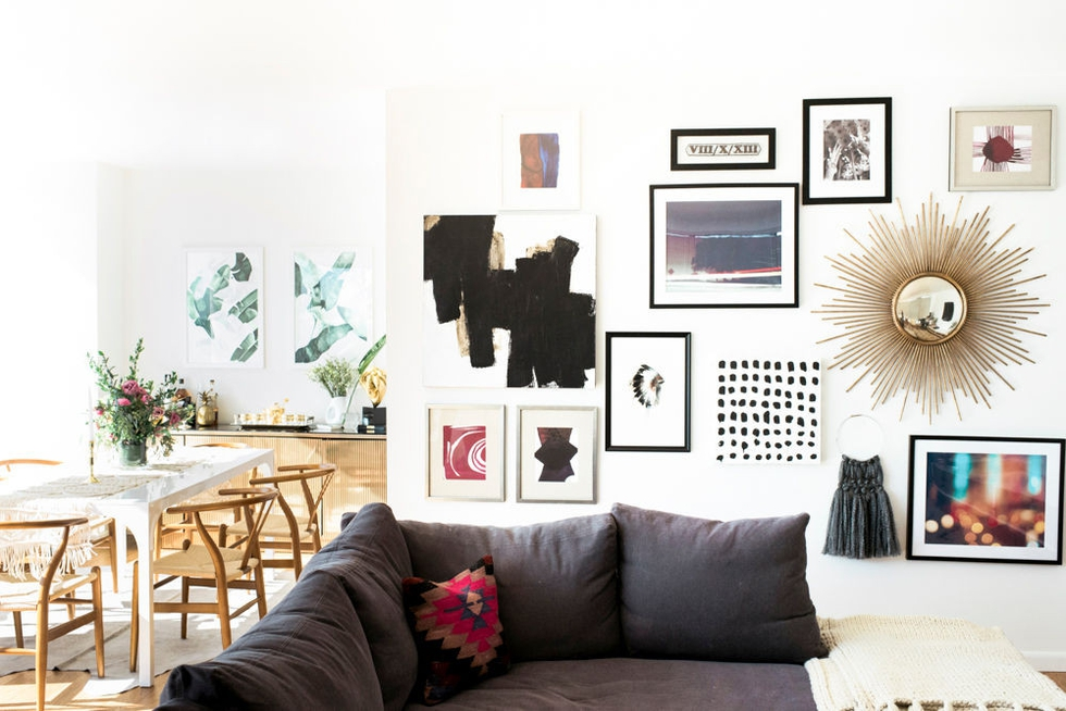 5 Ideas for Decorating an Empty Wall