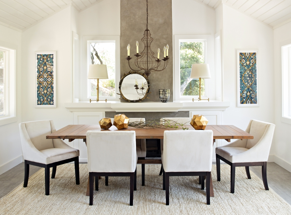 Dining Room Designed By Decorist Online Interior Designer Alexis Robbins