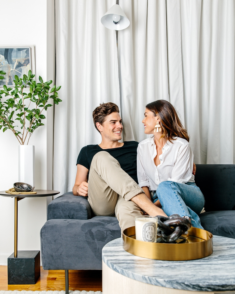 Inside Our Small Space Living Room Makeover By Celebrity Designer Jeremiah Brent