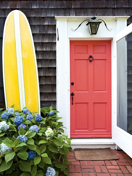 Fresh Paint Ideas for Door