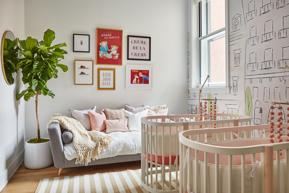 A Whimsical Nursery Design for Fashion Blogger Leandra Medine