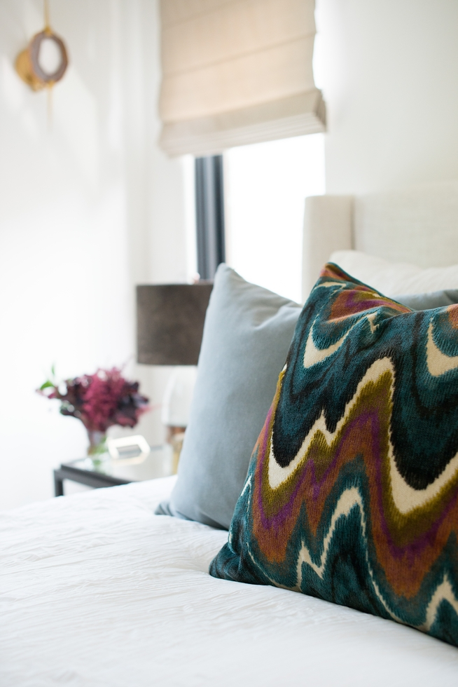 Velvet Patterned Pillow from Jayson Home