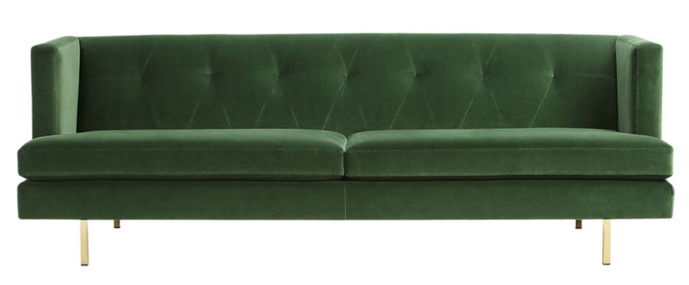 10 Sofas We Love Right Now - Mid-Century Modern Meets Glam