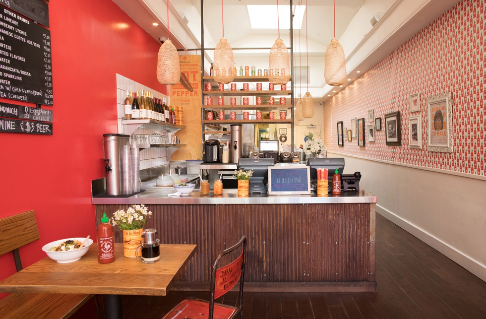 A Red-Hot San Francisco Restaurant Design