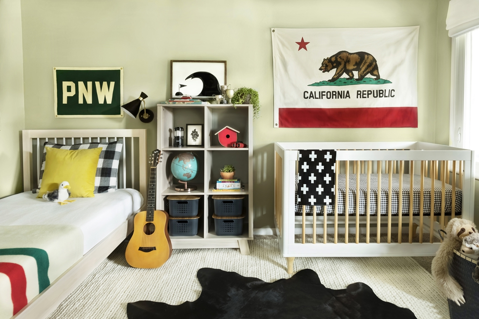 A PopSugar Editor's Nursery and Kids Bedroom Makeover