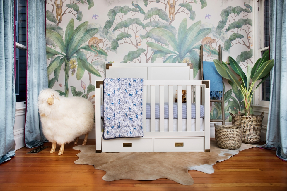 A Chic Nursery For a POPSUGAR Editor