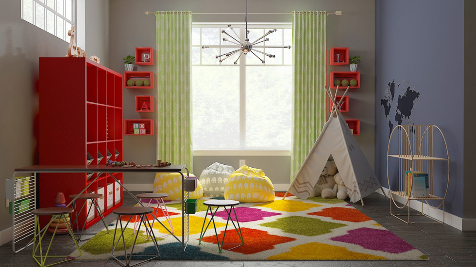 Playroom design by Decorist