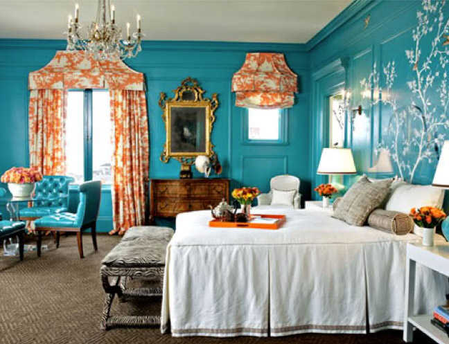 Bold Wall Color Ideas. 11 Paint Colors You d Never Paint Your Walls Until Now   Decorist