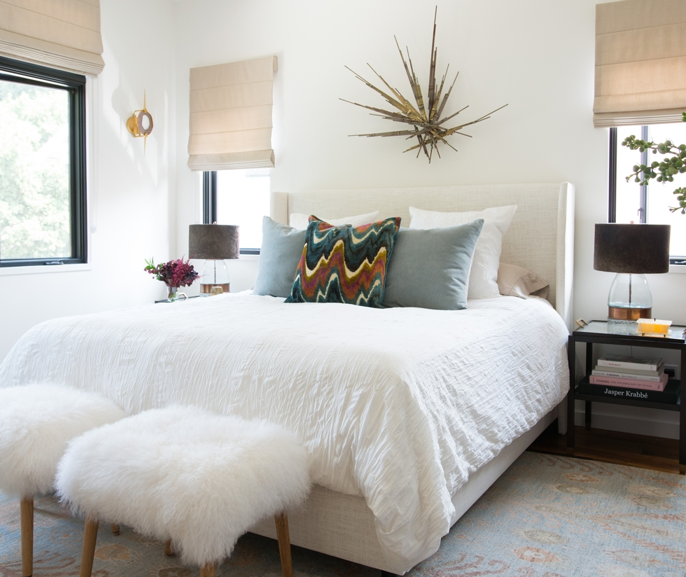 Charming Bedroom Blog Part - 2: From Blank Slate To Chic Bedroom: Celebrity Designer Will Wick Transforms  Blogger Erica Chan Coffmanu0027s Master Bedroom