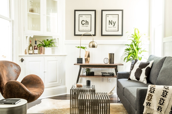 Small Space Bachelor Pad Gets A Makeover On A Budget
