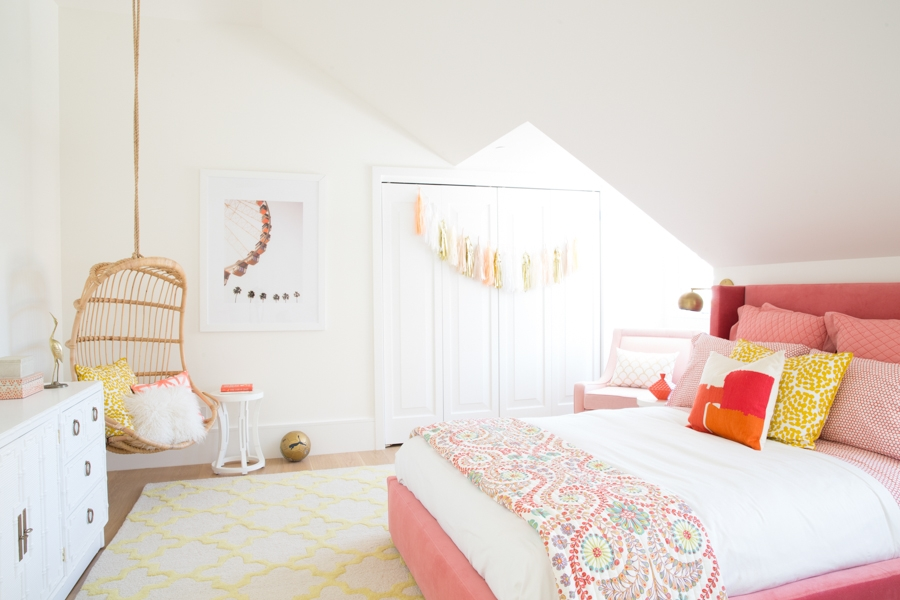 Tour The Girls Bedroom Behind Our Most Popular Pin on