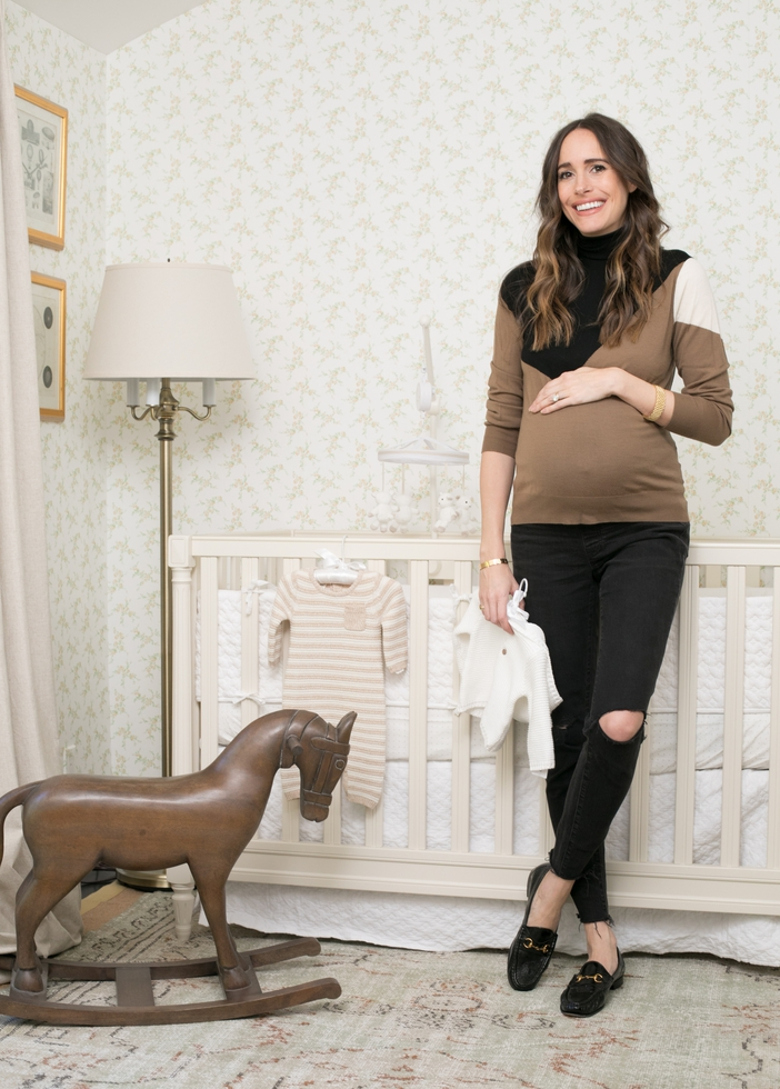 A Sweet Nursery for Fashion Journalist Louise Roe