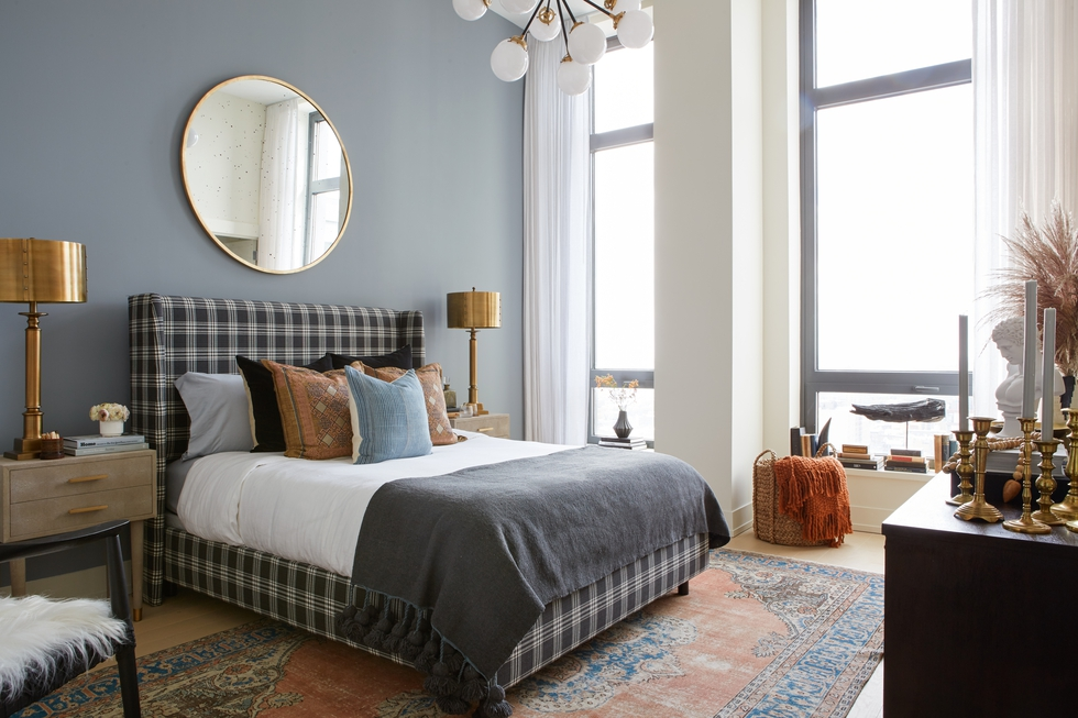 A Chic Brooklyn Guest Room for Real Simple Magazine