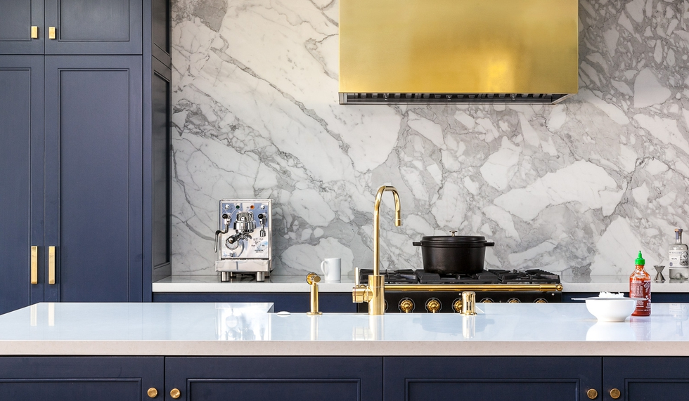 Trend Alert: Brass Kitchens Are On the Rise