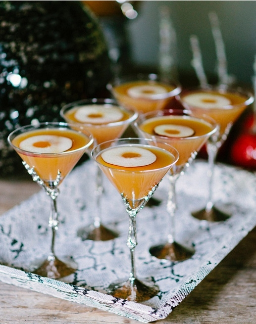 Apple Cider Martini's