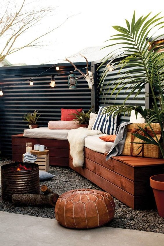 Small Outdoor Space Ideas Part - 29: Outdoor Pouf