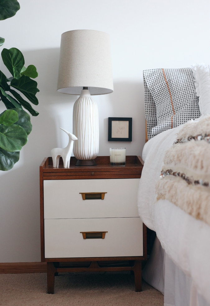 Online Interior Design Project | Bed and Nightstand