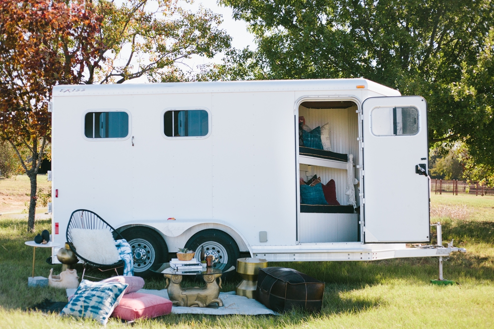This Chic Horse Trailer is an Equestrian's Dream
