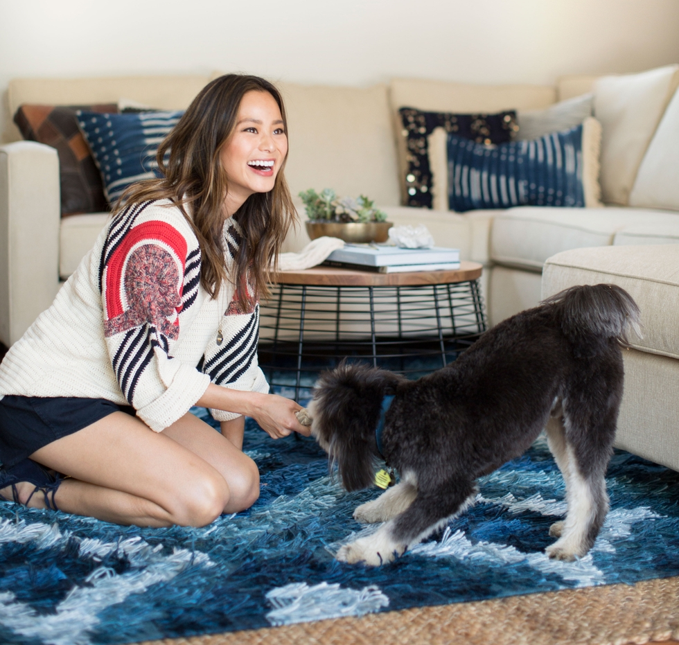 Jamie Chung Living Room Design