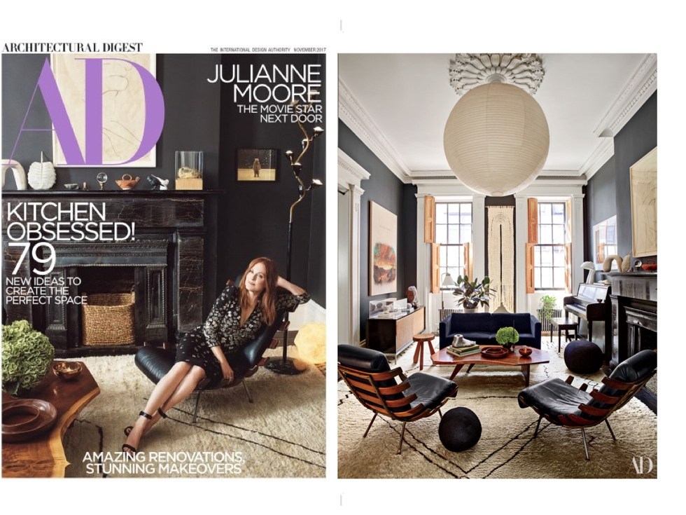 Get The Look Of Julianne Moore's New York City Townhouse