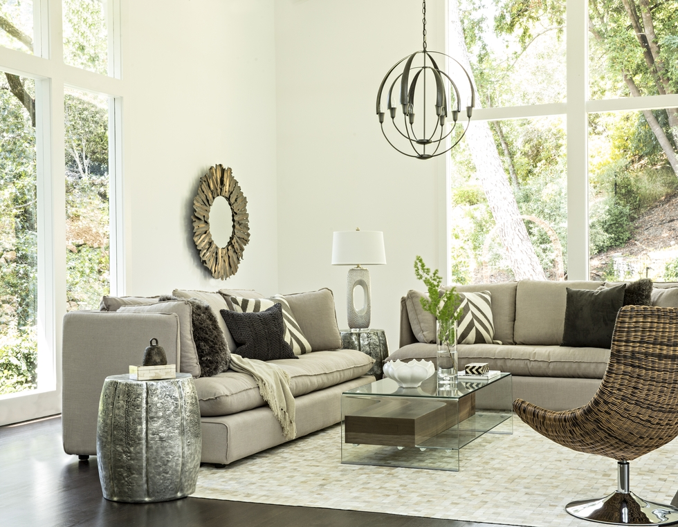 Living Room Designed By Decorist Designer Alexis Robbins