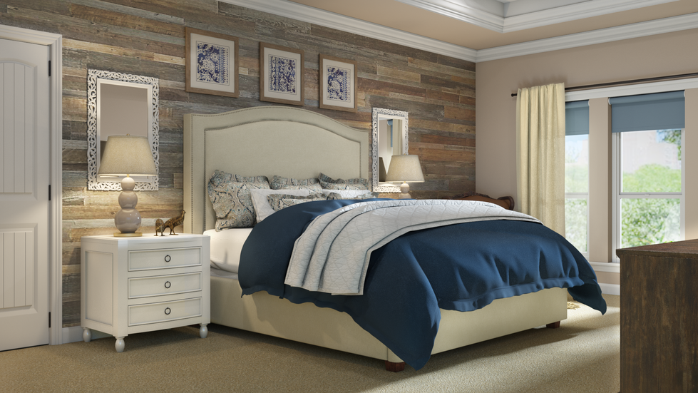 The new traditionalist bedroom
