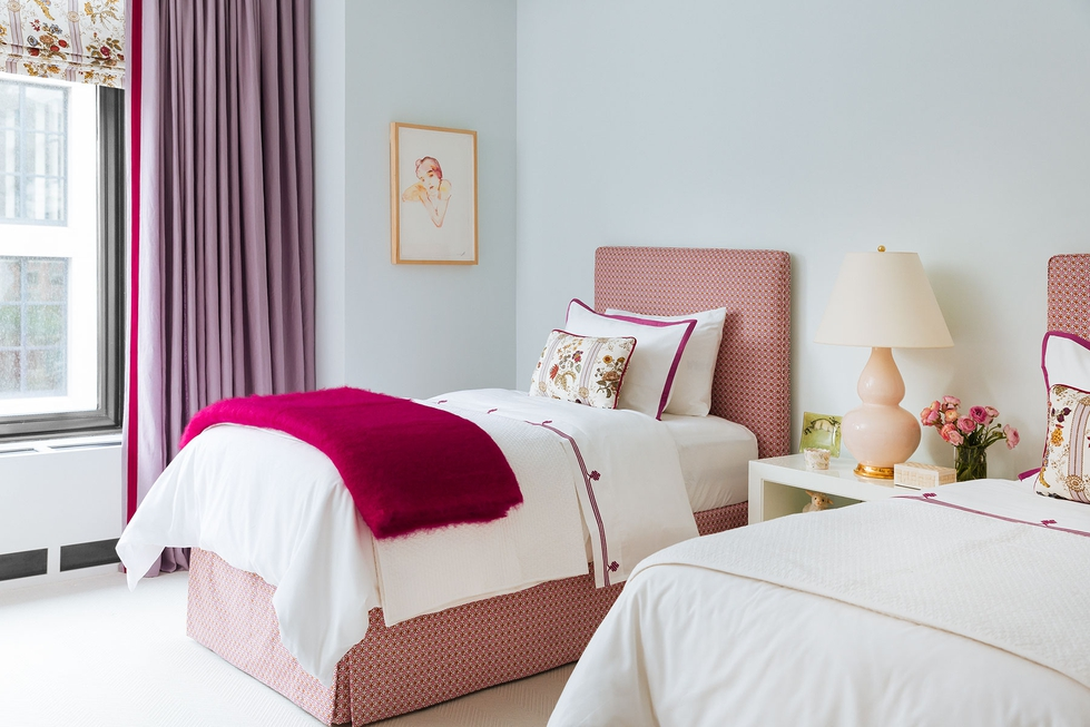 Pink And Blue S Bedroom