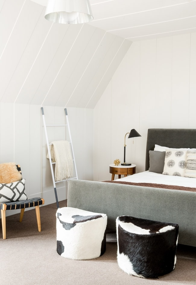 Midcentury Meets Rustic In This Guest Room Makeover Decorist