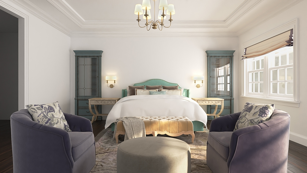 4 Bedrooms in 4 Boutique Hotel Styles
