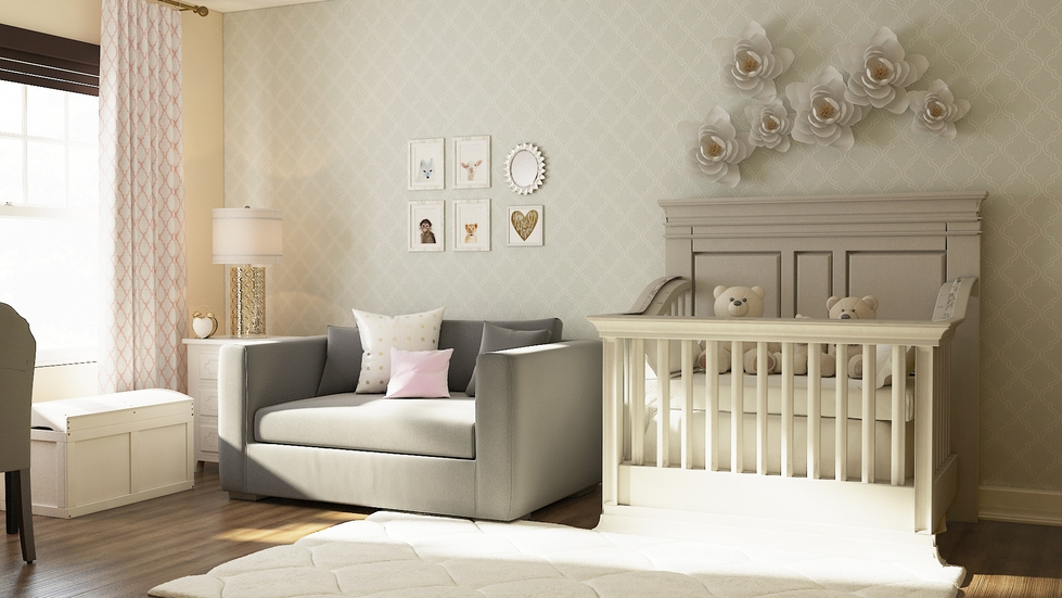 3 Stylish & Adorable Nurseries