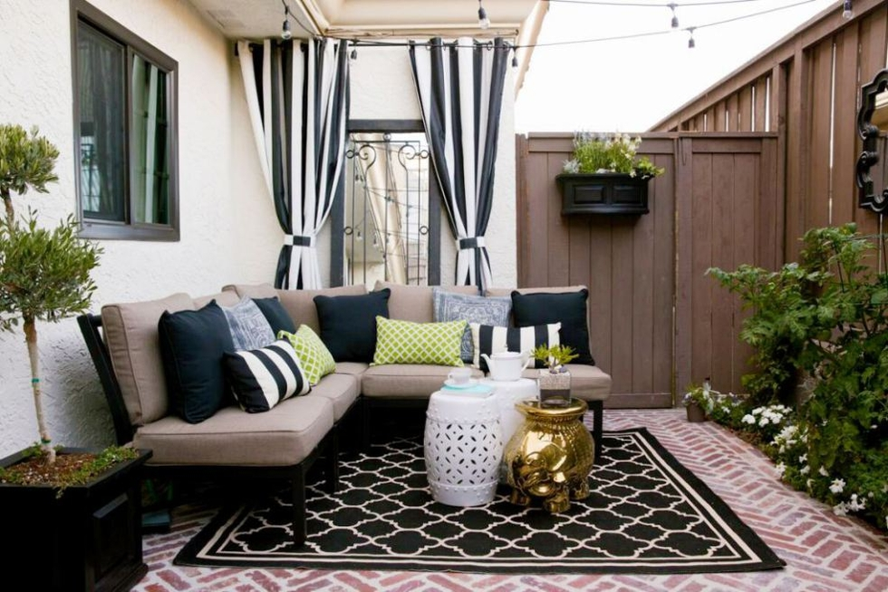 online interior design goes outdoors an affordable patio