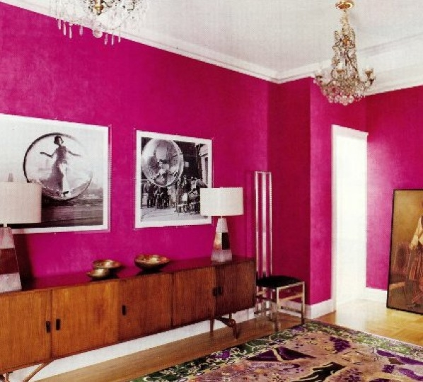 Pink Paint Color Ideas