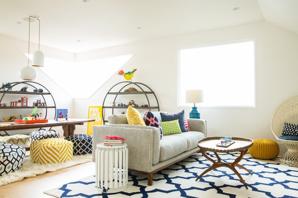 5 Ideas for Playroom Decorating
