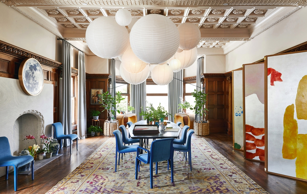 Tour Chloe Redmond Warner's Showstopping Dining Room