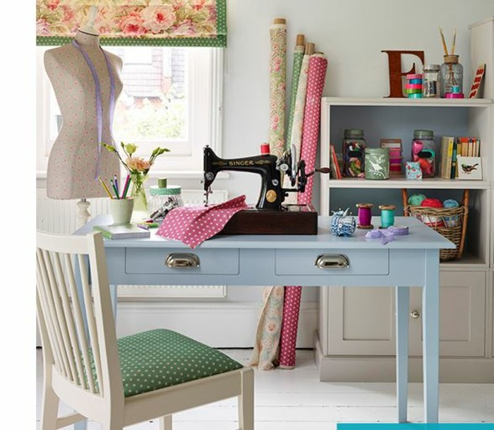 5 Ideas for Sewing Room Decorating