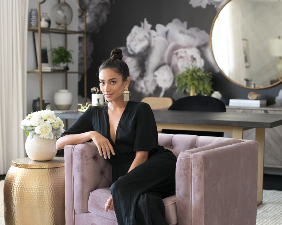 Tour Actress Shay Mitchell's Chic Hollywood Office