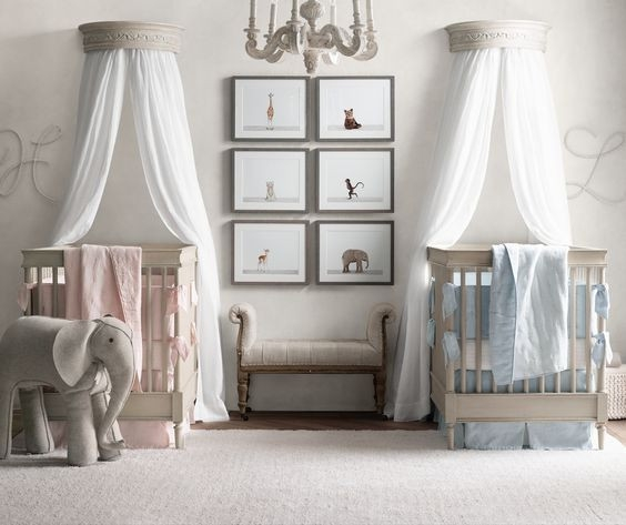 Cute Baby Girl Nursery Ideas: 5 Ideas For Decorating For Twins