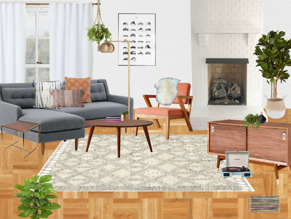 Modern eclectic living rooms at every budget decorist Modern eclectic living room