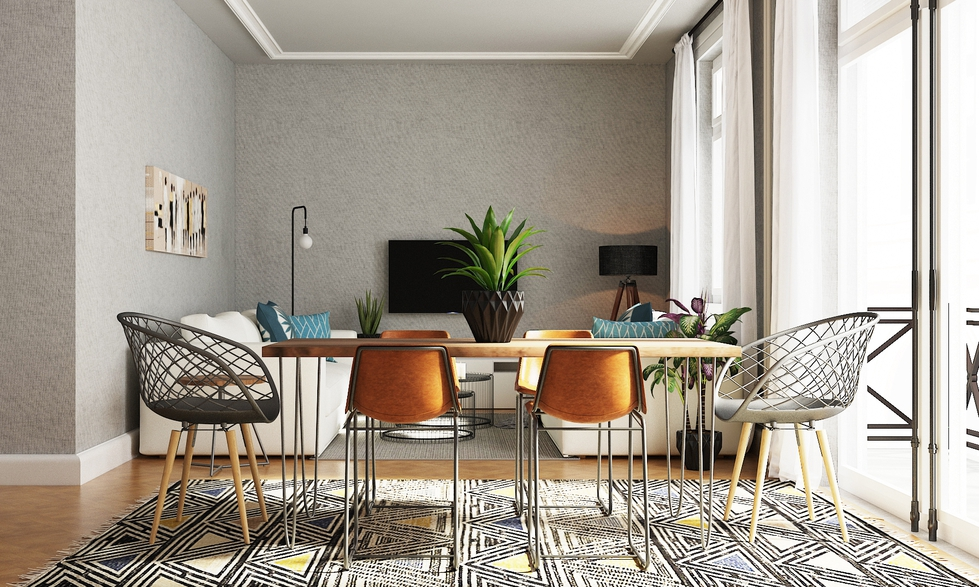 Behind The Design: A Living & Dining Room For Entertaining