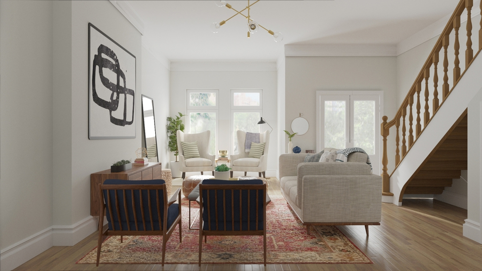 Behind The Design: A Brooklyn Brownstone Goes New Traditional