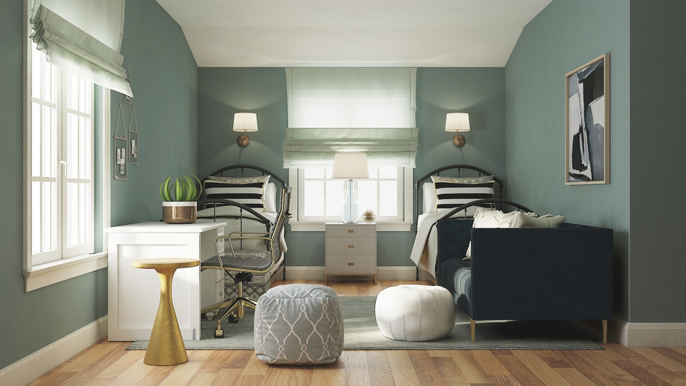 Behind The Design: A Teen Bedroom Gets A Grown-Up Makeover