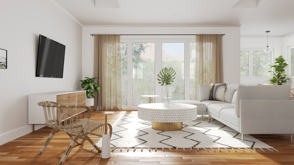 3 Living Rooms That Showcase The Beauty Of Neutrals Decorist