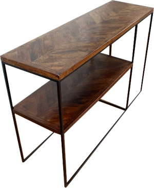 Sharen Console Table Brown