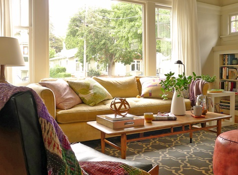 Sarah Coombs Living Room Design