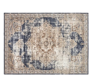 Excellent Abbeville Power Loom Dark Blue Area Rug Rectangle 9X2 Ibusinesslaw Wood Chair Design Ideas Ibusinesslaworg