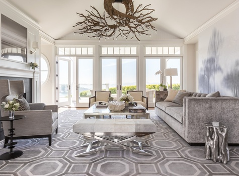 Living Room Design by Ann Lowengart